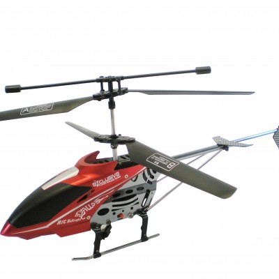 Lead Honor® R/C 3.5 Channel Gyro Metal Outdoor Helicopter LH-1109 (Red)