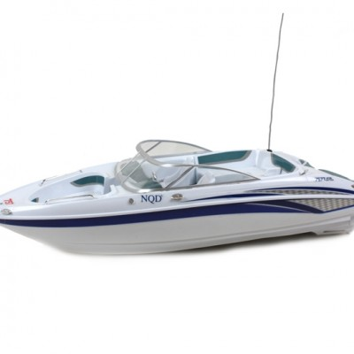 NQD® R/C 1:25 Sea Tour Speed Boat (Blue Stripe)