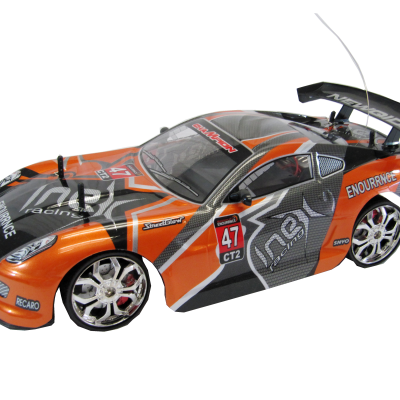 NQD® R/C 1:10 Ready-to-Run Sports Performance Racing Car (Orange)