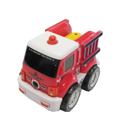 Mega Jump™ Toddler and Little Kid R/C Rescue Fire Truck Engine