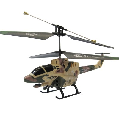 "G.T. Model® R/C 3 Channel Gyro Military Helicopter ""COBRA"" (Military Camouflage)"