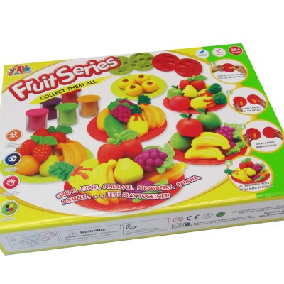 DIY Kids™ Fresh Juicy Fruits Creative Playing Dough Set