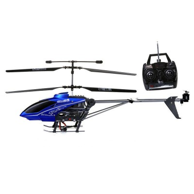 Lead Honor® R/C 3.5 Channel Gyro Metal Outdoor Helicopter LH-1109 (Blue)