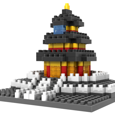 9364 LEGO Temple of Heaven