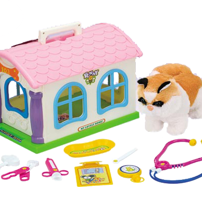 My little Pet House and Care Set