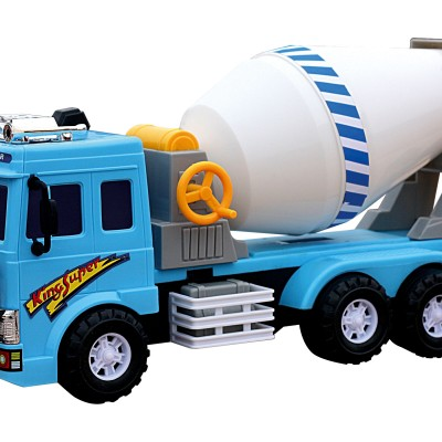Large Construction Cement Mixer Truck Toy