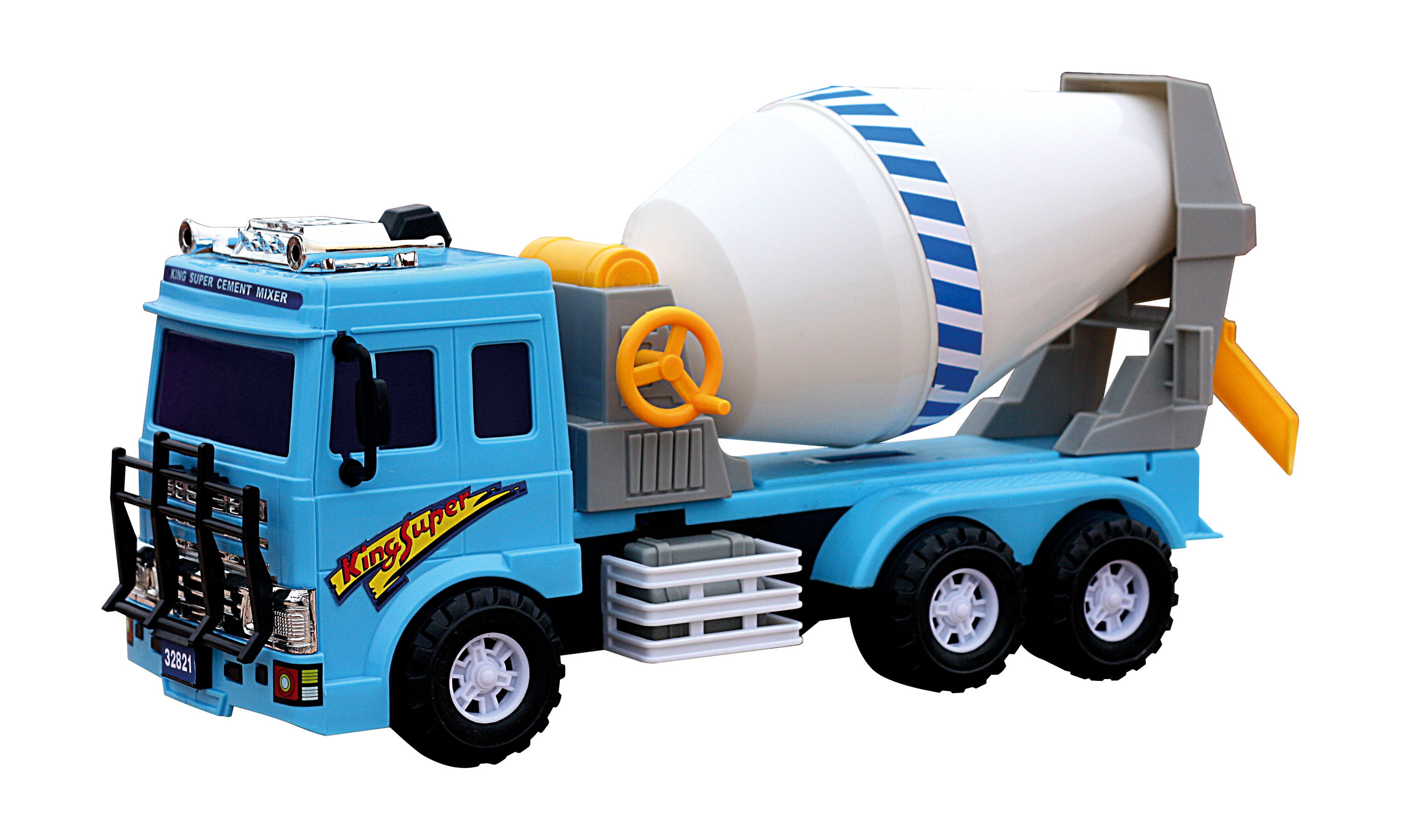 Mixer Truck Toy : Large cement mixer truck toy glopo inc