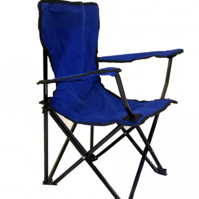 Lincoln Park Quality Children Folding Camping Chair with Carrying Bag (Blue)