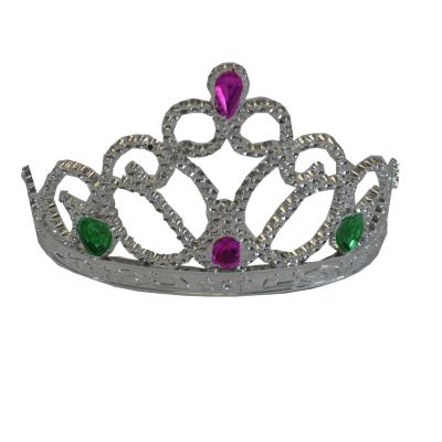 Princess Crown w/ Heart Stone