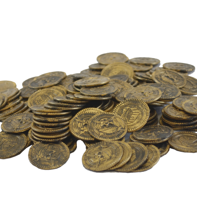 144 pcs Pirate Treasure Coins