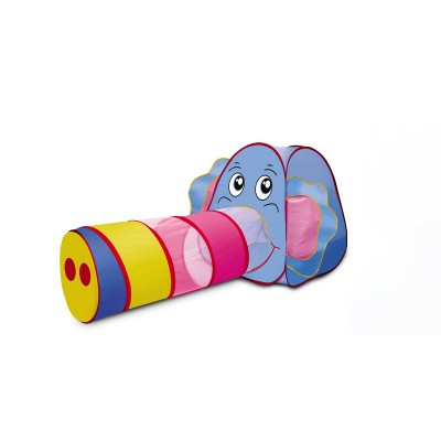 Little Elephant Tent and Tunnel Play Set