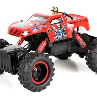NQD® R/C 1:12 4WD Rock Crawler King (Red)