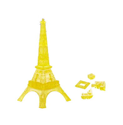 3D Paris Eiffel Tower puzzle