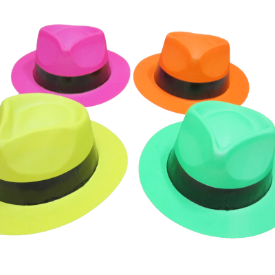 12 Color Gangster Hats