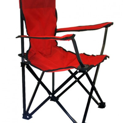 Lincoln Park Quality Children Folding Camping Chair with Carrying Bag (Red)